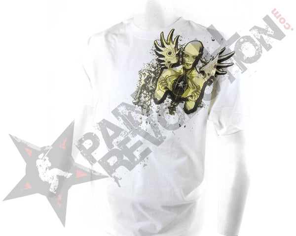 Paintball Revolution T-Shirt Angel White - L - L