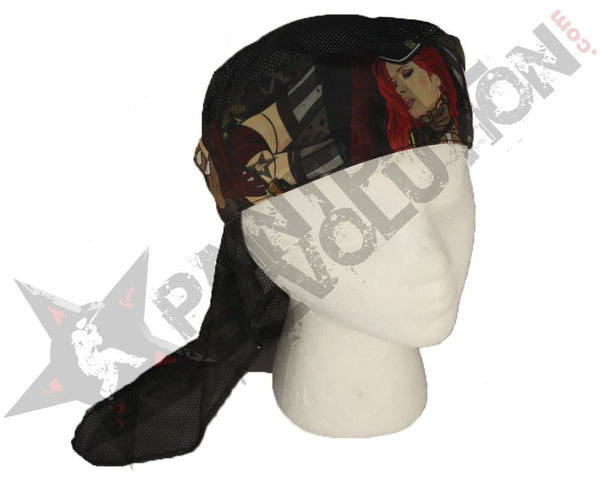Paintball Revolution Headwrap Lucy Steampunk