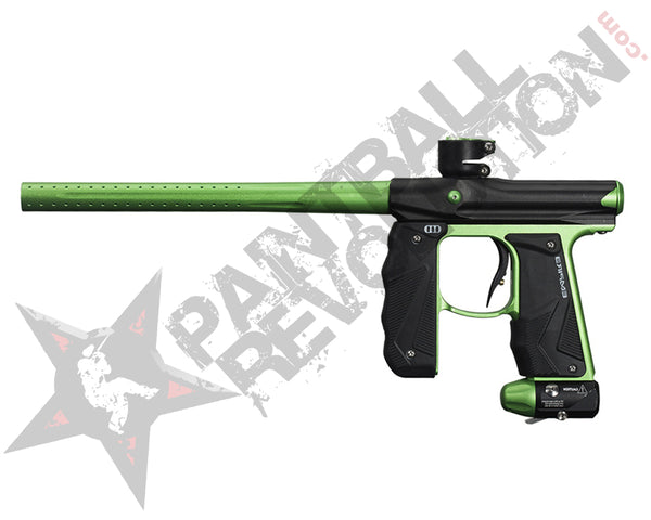 Empire Mini GS Paintball Gun Marker Dust Black Neon Green