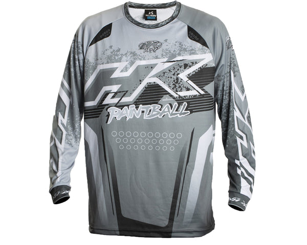 HK Army Retro Paintball Jersey Liquid Slate 2XL