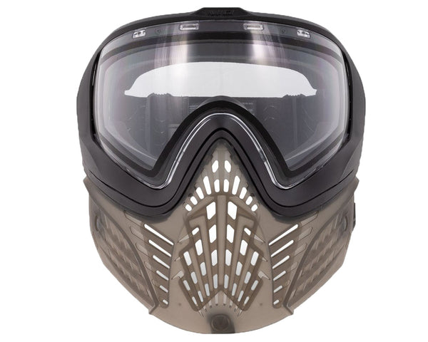 Virtue VIO Extend II Paintball Goggle Mask Black Clear