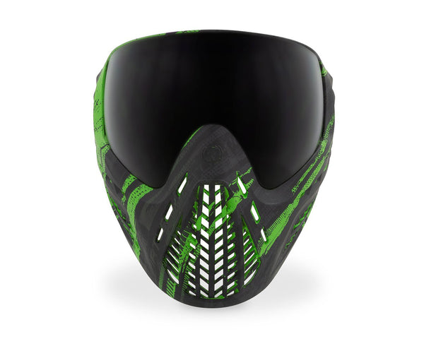 Virtue VIO Ascend Paintball Goggles Mask Graphic Lime