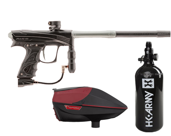 Dye Rize CZR Paintball Marker Gun Black Grey Package Red IR