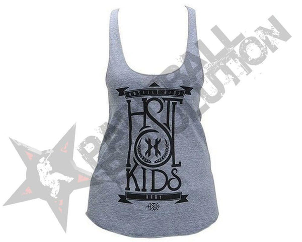 HK Army Tank Top Girls Stacked Grey - XS - XS - XS - XS - XS