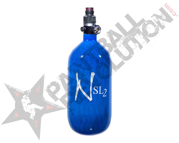 Ninja SL2 Blue Carbon Fiber Air Tank 77/4500 w Standard Adjustable Reg