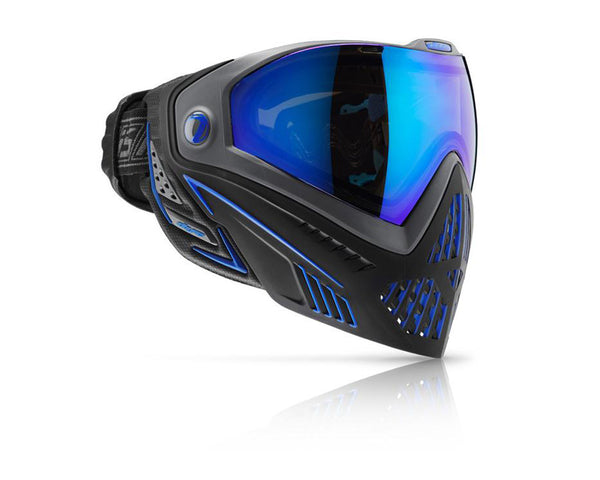 Dye Precision i5 Paintball Mask Goggles Storm (Black Blue)