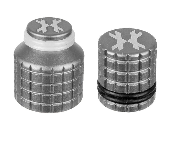 HK Army Thread Guard and Fill Nipple Cover Combo Silver