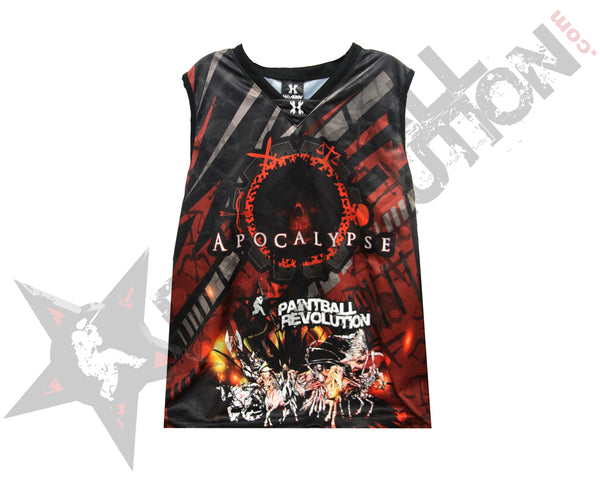 Paintball Revolution Custom Apocalypse Streetball Jersey Size XL