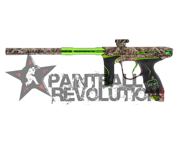 Dye Precison M2 Mosair Paintball Marker Gun Backwoods Lime