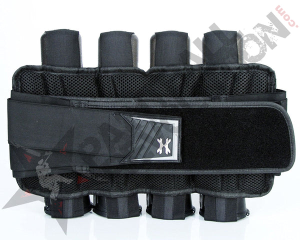 HK ARMY HSTL BASE PAINTBALL HARNESS BLACK 4+3