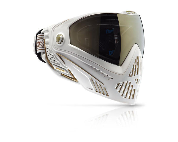 Dye Precision i5 Paintball Mask Goggles White Gold