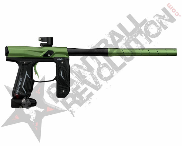 Empire Axe 2.0 Paintball Marker GunDust Black Dust Green