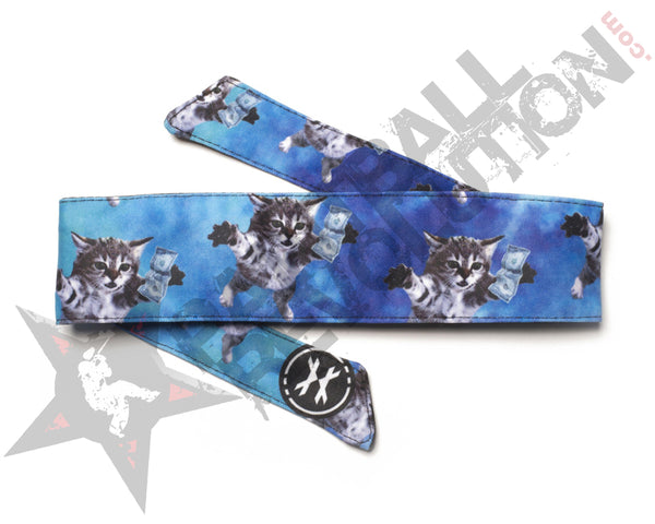 HK Army Headband Cat Cobain