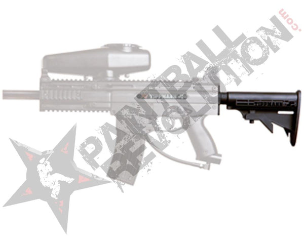 Tippmann X7 M16 Collapsible Stock Black