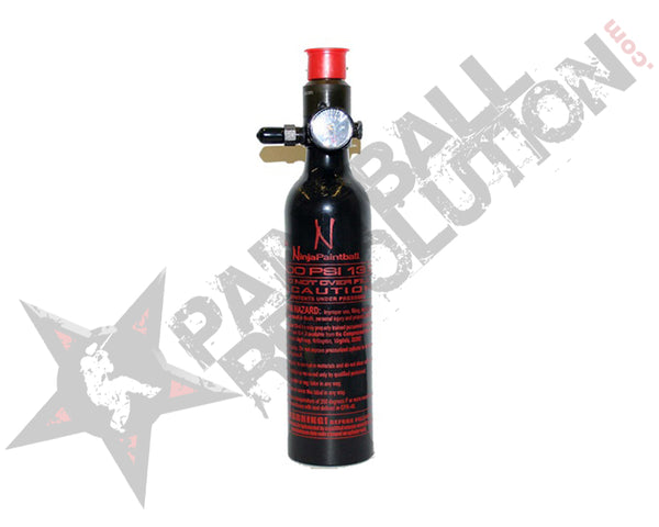 Ninja Black Aluminum Air Tank 13/3000 with Reg