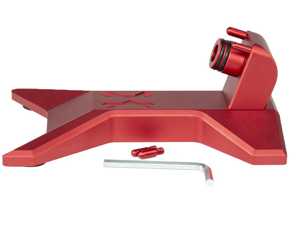 HK Army Paintball Gun Marker Stand Red