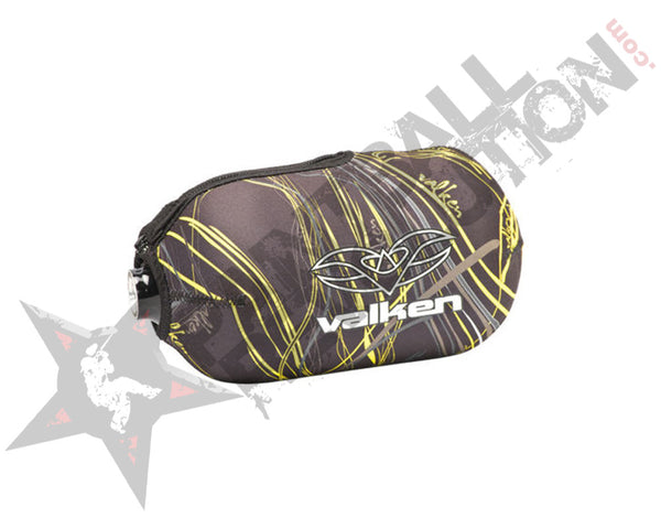 Valken Crusade 45CI Paintball Tank Bottle Cover Static Yellow
