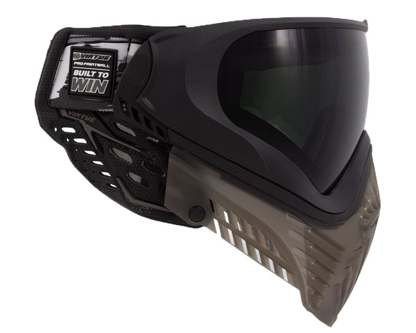 Virtue VIO XS II Paintball Goggle Mask Black Smoke