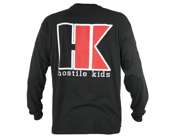 HK Army OG Series Cotton Long Sleeve Black Red 2XL
