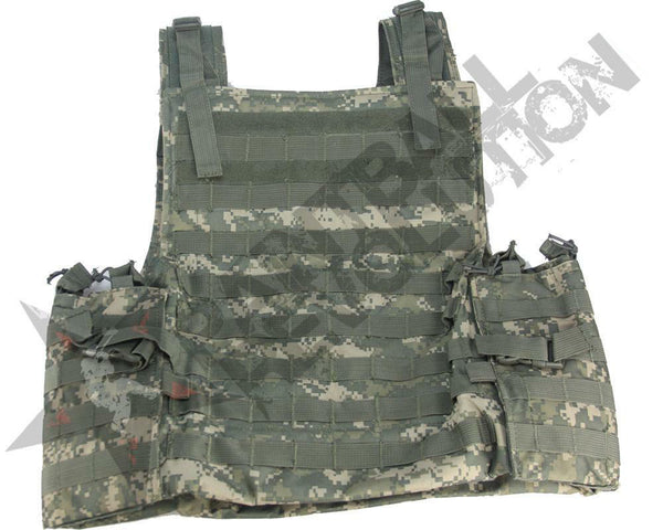 GenXGlobal LightWeight Assault Vest Woodland