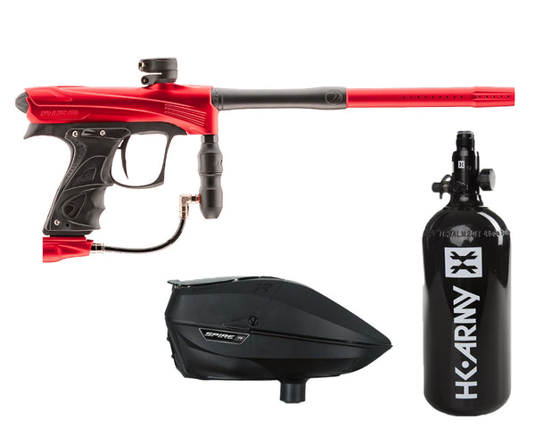 Dye Rize CZR Paintball Marker Gun Red Black Package Black IR