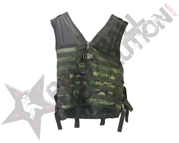 Gen X Global LightWeight Assault Vest Woodland