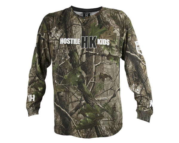 HK Army OG Series Cotton Long Sleeve Real Tree S