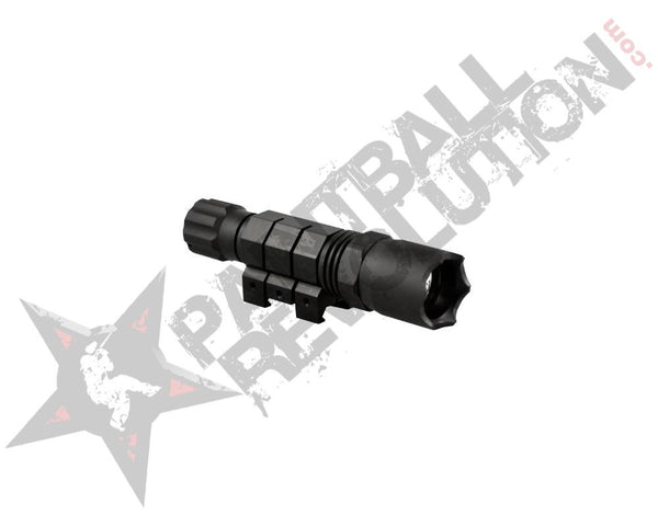 Aim Sports LED Flashlight With Rail Mount