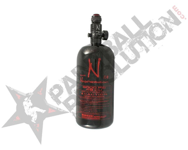 Ninja Black Aluminum Air Tank 48/3000 with Reg - PREORDER