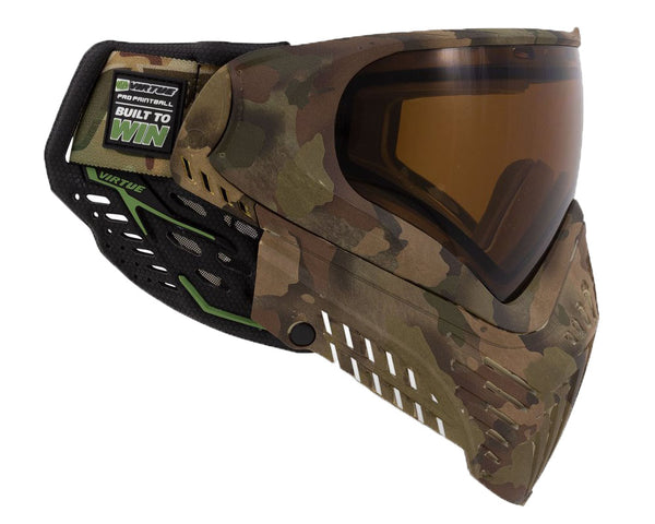 Virtue VIO XS II Paintball Goggle Mask Reality Brush Camo
