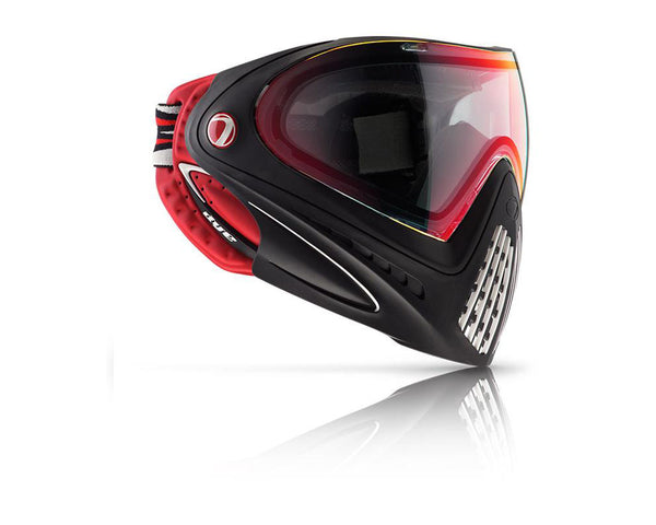 Dye Precision i4 Paintball Mask Goggles Dirty Bird (Black Red)