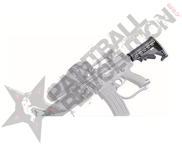 Rap4 X7 Buttstock In  Black
