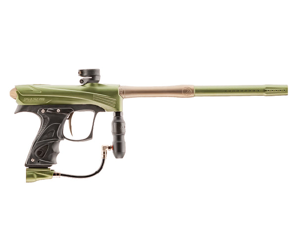Dye Rize CZR Paintball Marker Gun Olive Tan