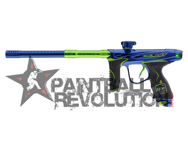 Dye Precison M2 Mosair Paintball Marker Gun Blue Lime