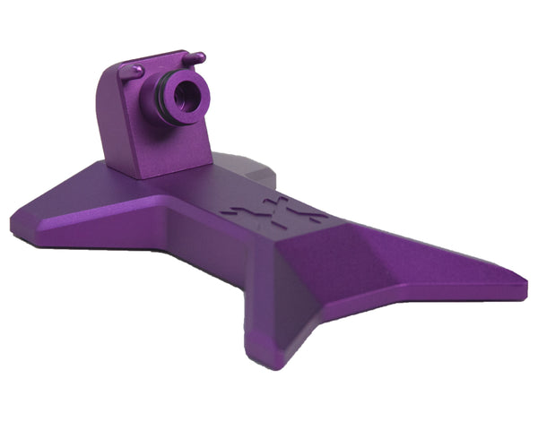 HK Army Paintball Gun Marker Stand Purple