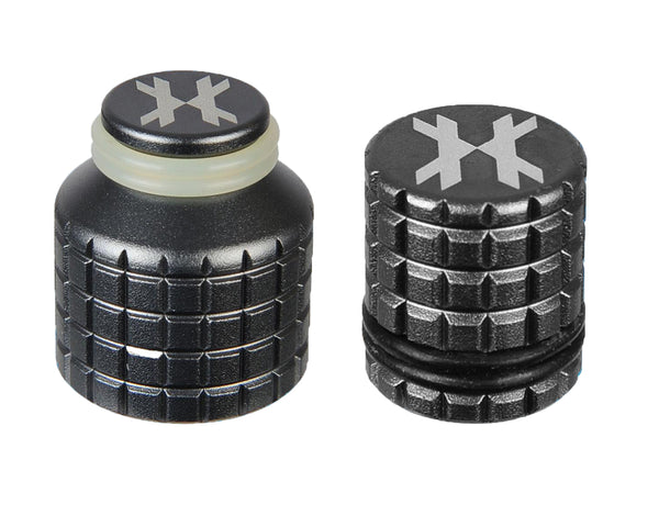 HK Army Thread Guard and Fill Nipple Cover Combo Pewter