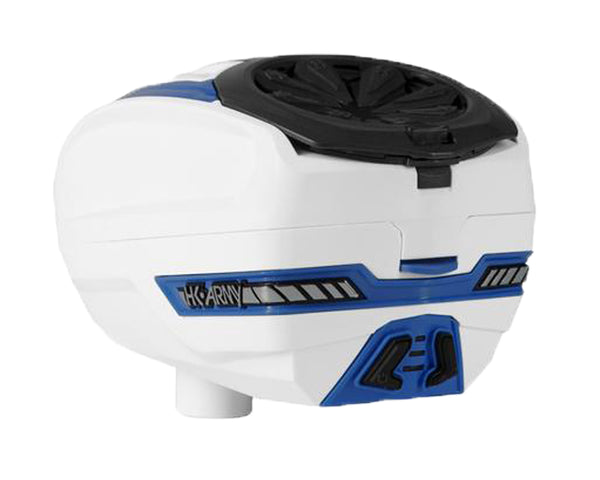 HK Army TFX 2 Paintball Hopper Loader White Blue