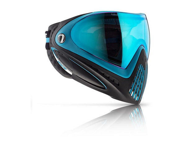 Dye Precision i4 Paintball Mask Goggles Powder Blue (Black Blue)