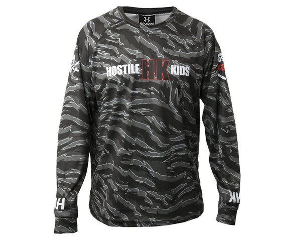 HK Army OG Series DryFit Long Sleeve Tiger Urban Camo 3XL