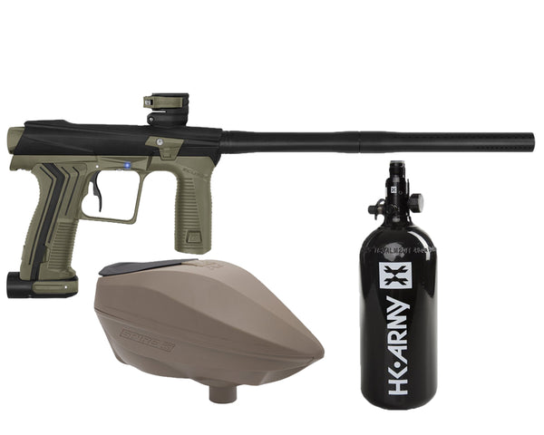 Planet Eclipse Etha 2 PAL Paintball Marker Gun Package Black Earth w FDE Spire IR2 - PREORDER