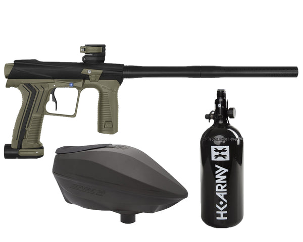 Planet Eclipse Etha 2 PAL Paintball Marker Gun Package Black Earth w ODG Spire IR2 - PREORDER