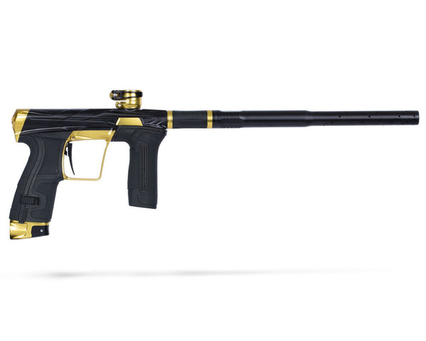 HK Army Planet Eclipse Invader CS2 Pro Paintball Marker Gun Midas Dust Black Gold