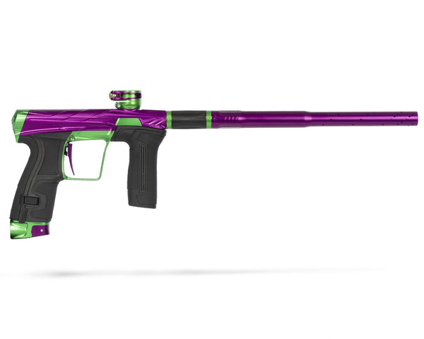 HK Army Planet Eclipse Invader CS2 Pro Paintball Marker Gun Slime Dust Purple Neon Green - FREE TANK W PURCHASE