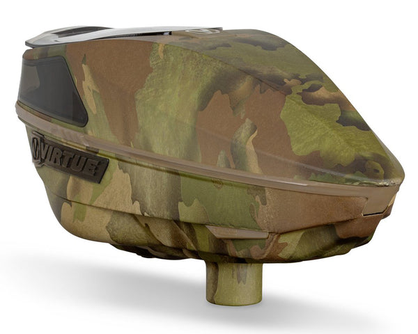 Virtue Spire IV Paintball Hopper Loader Reality Brush Camo
