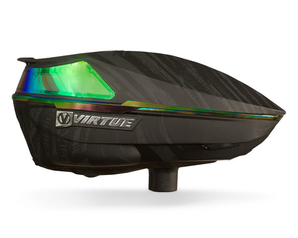 Virtue Spire IV Paintball Hopper Loader Graphic Emerald