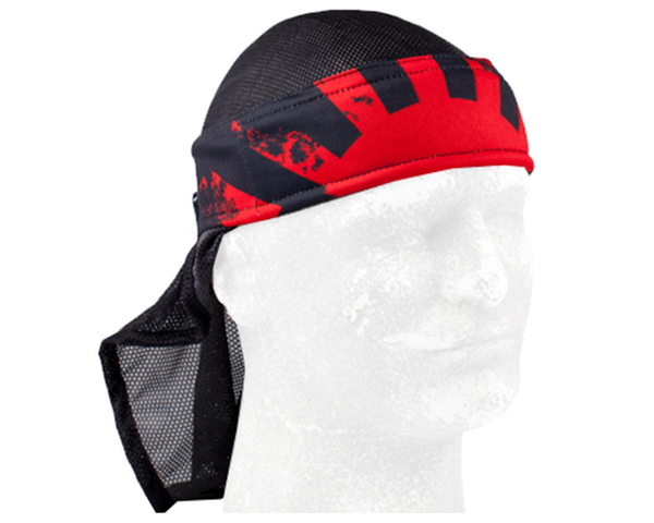 HK Army Headwrap Rising Sun Black