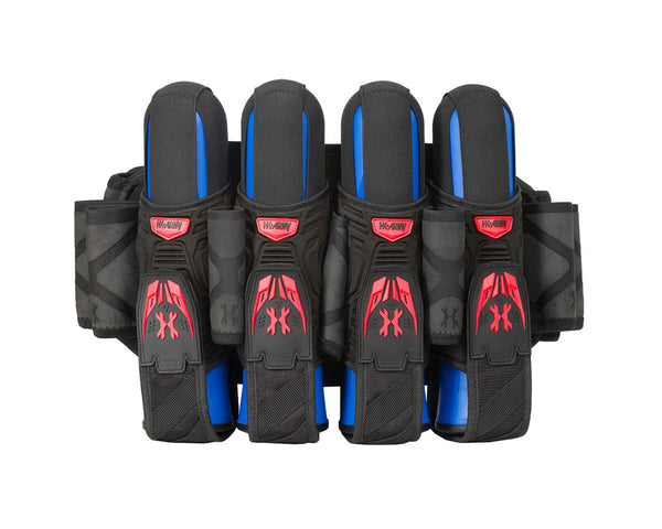 HK Army Magtek Paintball Harness Black Red 4 + 3 + 4