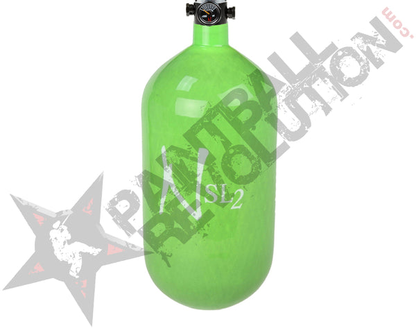 Ninja SL2 Lime Carbon Fiber Air Tank 77/4500 w Standard Adjustable Reg