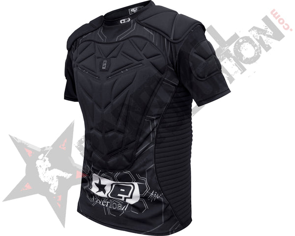 Planet Eclipse Overload Padded Jersey Chest Protector Black - S - S