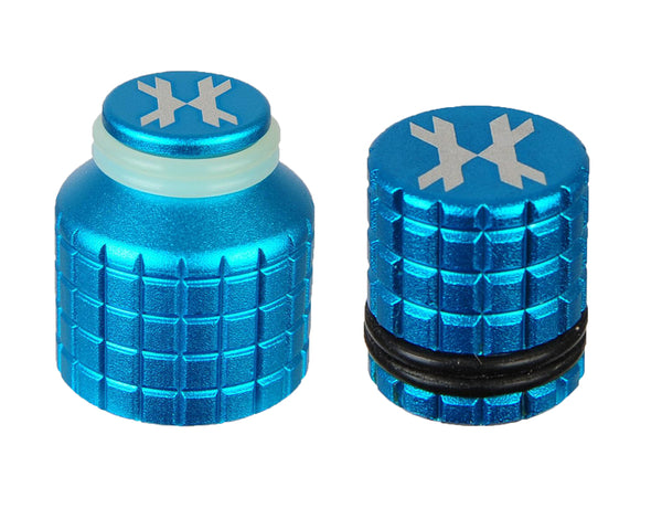 HK Army Thread Guard and Fill Nipple Cover Combo Blue